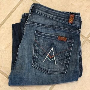 "7 for All Mankind • ""A"" Pocket • Sz 29 X  33"